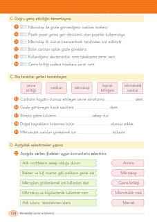 4. Sınıf Din Kültürü Ders Kitabı Cevapları İlke Yayınları Sayfa 138