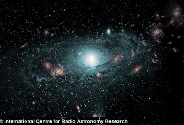 Kekuatan Misterius yang Menarik Galaksi Kita Bukan Ancaman