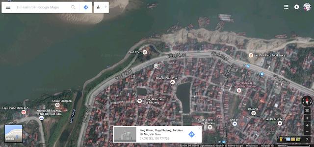 Vị trí tòa chung cư mini Minh Đại Lộc 3 giá rẻ (323 Thụy Phương)