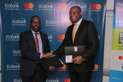 Ecobank takes a step closer to reaching its 100 million customer ambition by partnering with Mastercard to roll-out Masterpass QR across 33 countries