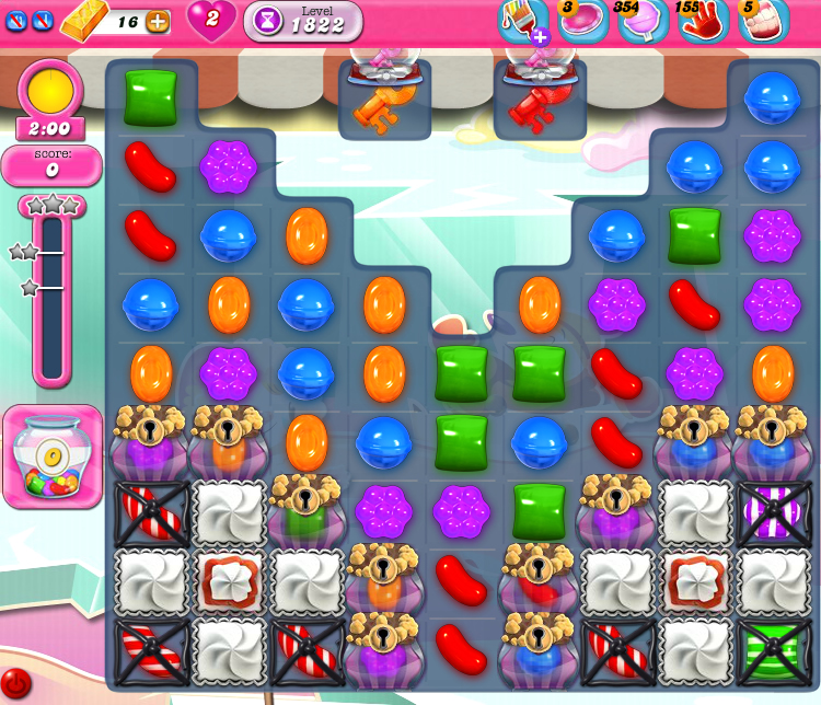 Candy Crush Saga 1822