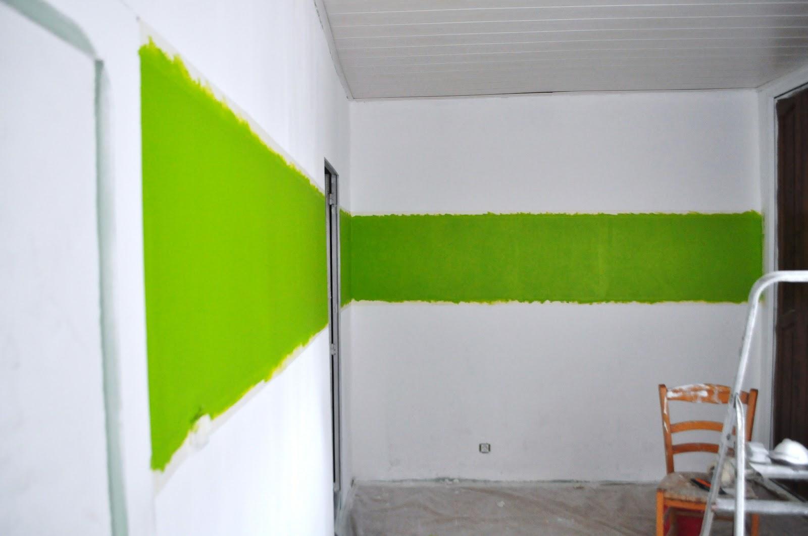 Chambre Verte Pomme Décoration Peinture Pour Wc