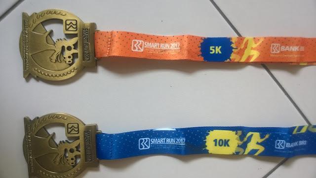 Medali 5K dan 10K