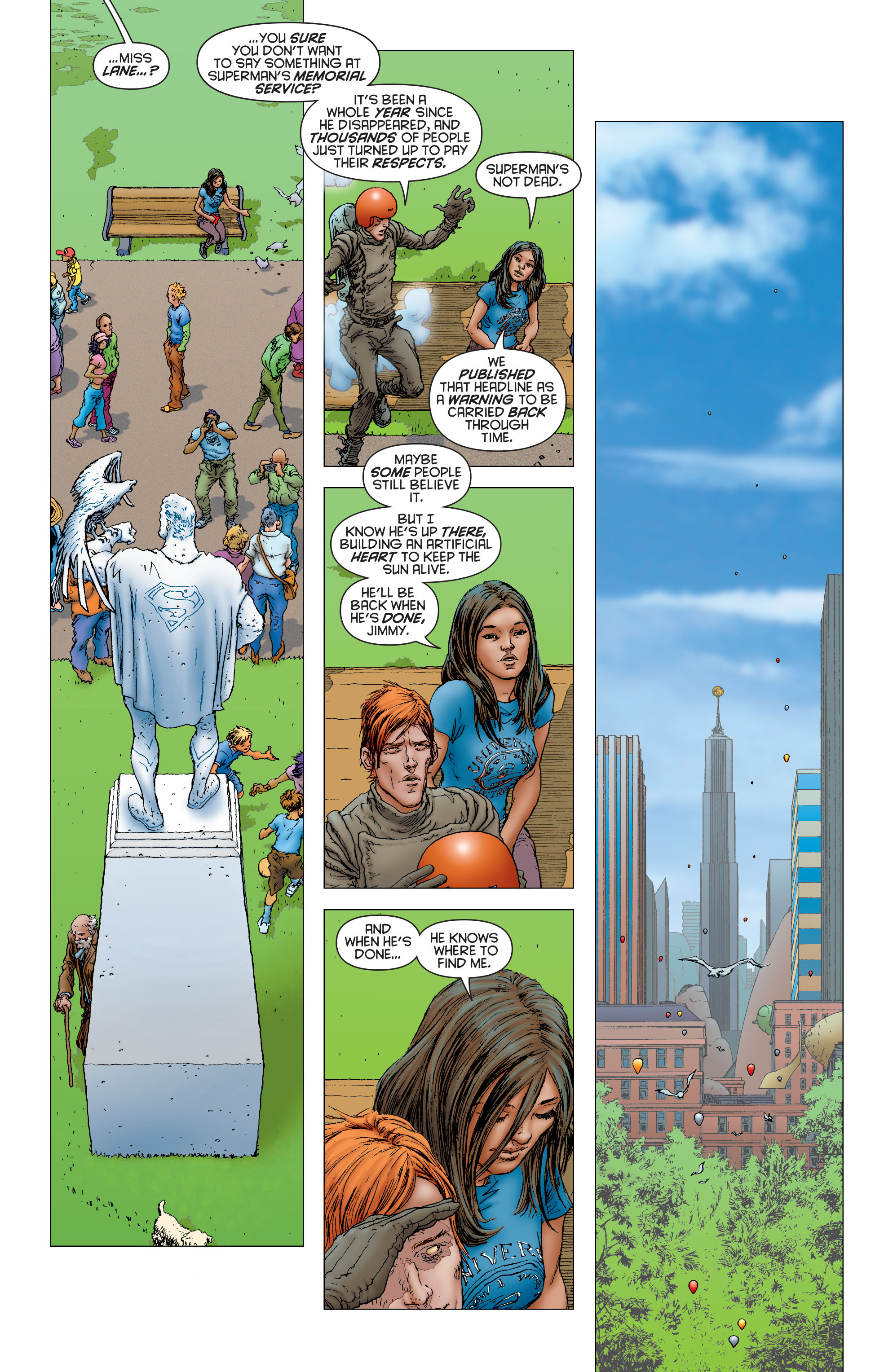 Read online All Star Superman comic -  Issue #12 - 20