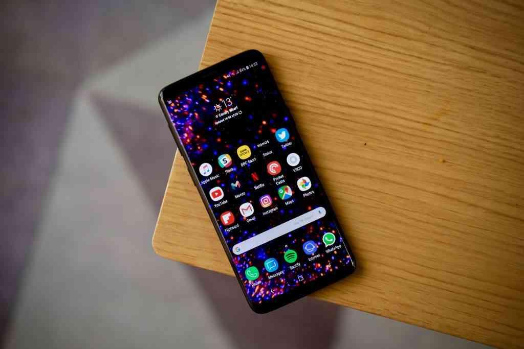 Samsung Galaxy S9 Samsung Experience Custom Ui