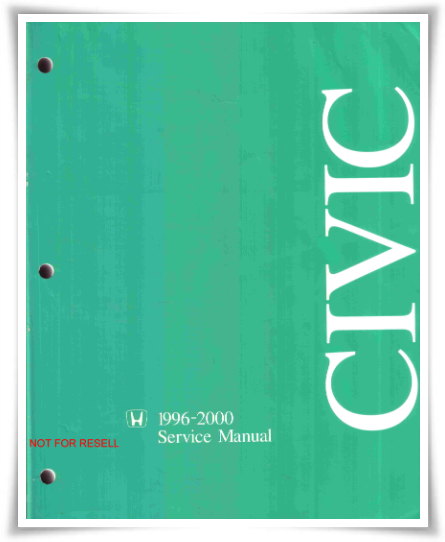 Honda Civic 1996-2000 Service Manual
