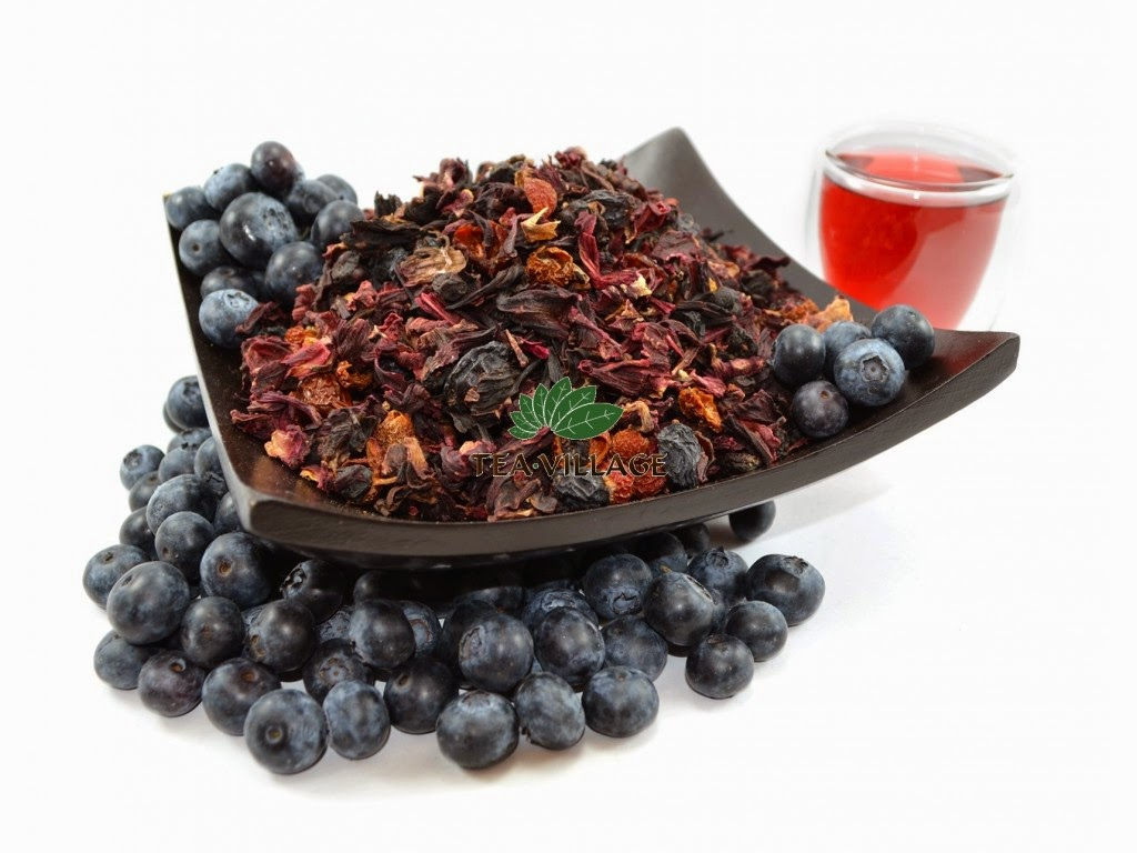 Blueberry Tea Benefits ~ Healthy Tea 101