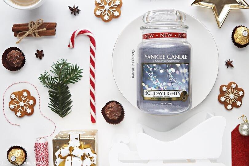 yankee candle holiday lights zapach limitowany święta 2018