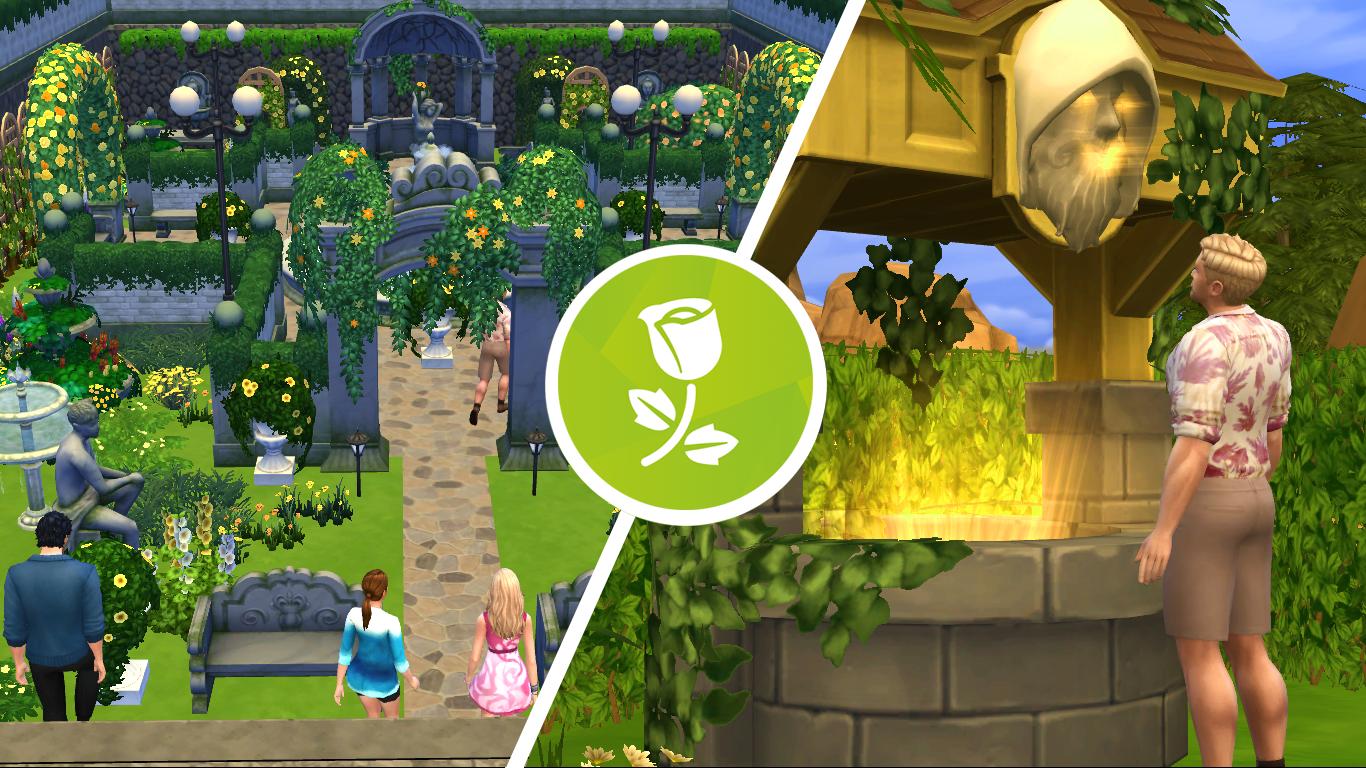 Sims soul novedades de los sims 4 for Sims 2 mansiones y jardines