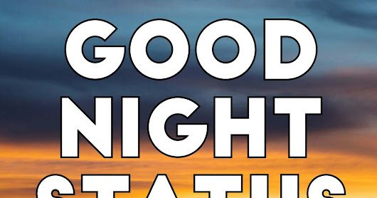 Best Good Night Status in Hindi