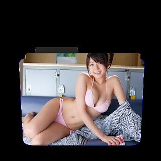 Preview of Asian girl Wallpaper Folder icon
