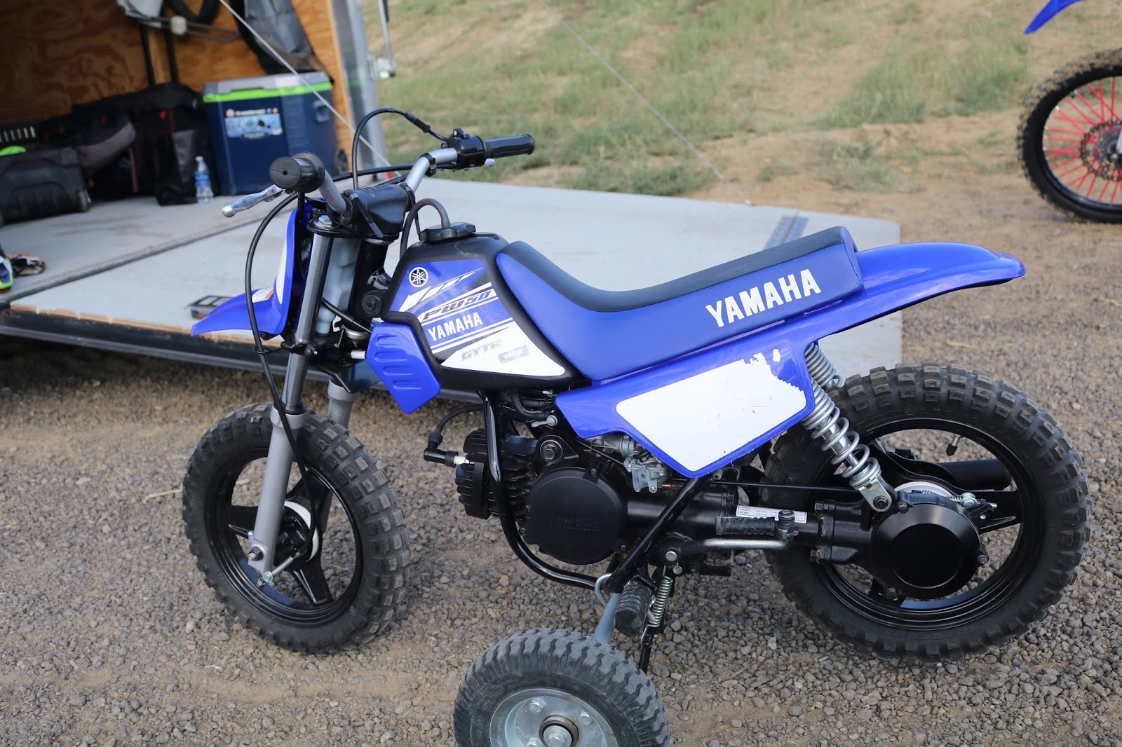 Oldmotodude yamaha pw50 at the rocky mountain vintage mx for 2017 yamaha pw50