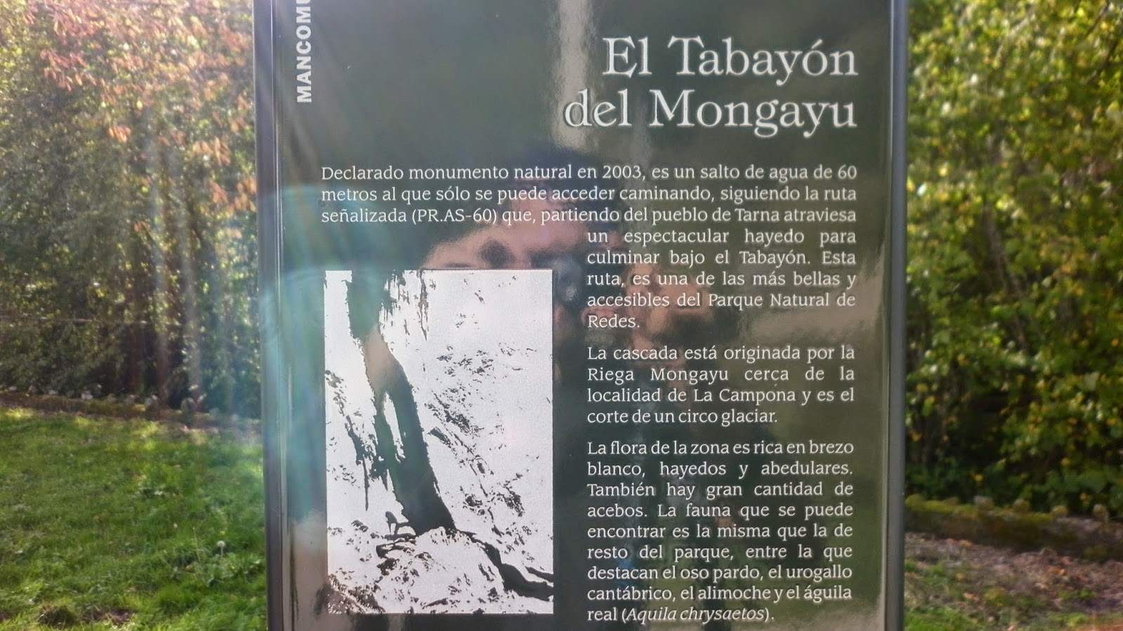 Tabayón del Mongayo, monumento natural.