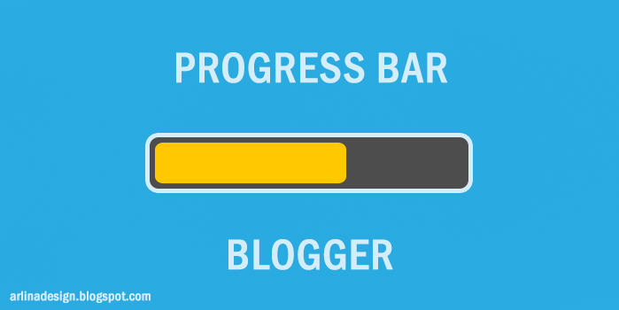Memasang Progress Bar di Blog