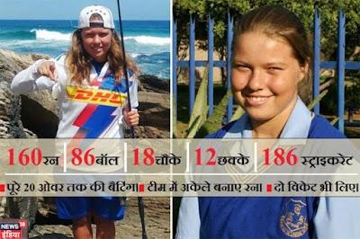 यादगार क्रिकेट मैच : शानै का बैटिंग-बॉलिंग में जलवा, अकेले ही बना दिए 160 रन