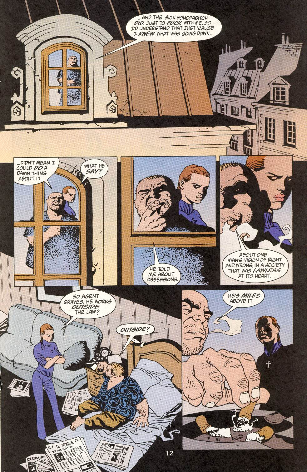 Read online 100 Bullets comic -  Issue #14 - 14