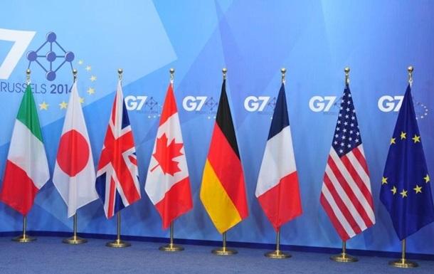 G7 виступила за збереження санкцій проти Росії