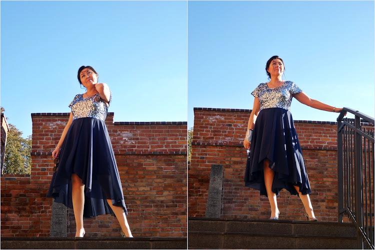 Inna ja/ another me in a bonprix dress