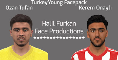 PES 2016 Türkiye Young Facepack by Halil Furkan