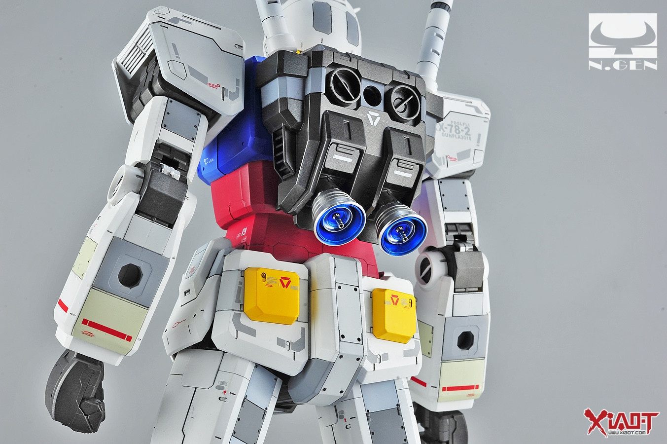 how to add led to 1 48 rx-78 gundam