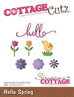 http://www.scrappingcottage.com/cottagecutzhellospring.aspx