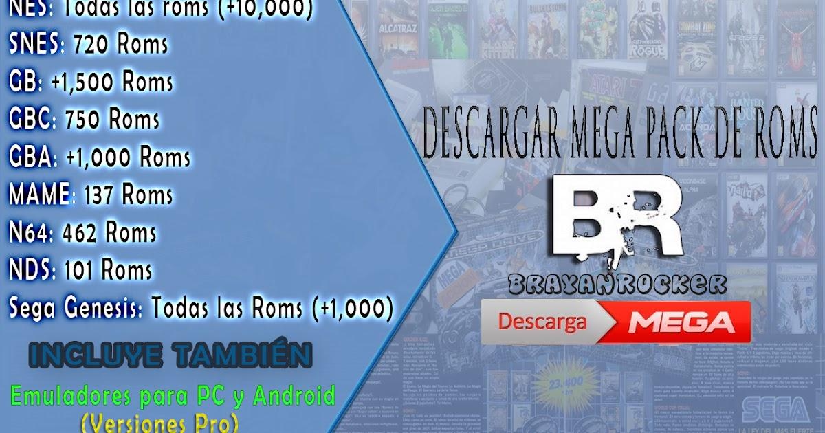 BRAYANROCKER: Mega Pack de Roms de consolas clasicas | Pc y Android