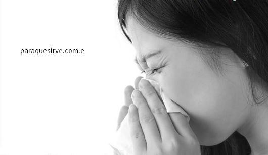 Como curar una alergia.