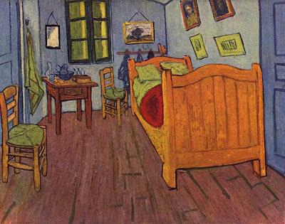 Arte semplice e poi l 39 opera la camera da letto del pittore olandese vincent van gogh una - La camera da letto van gogh ...