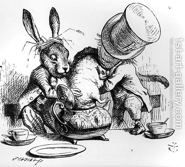 March Hare Alice In Wonderland: A+a=Z
