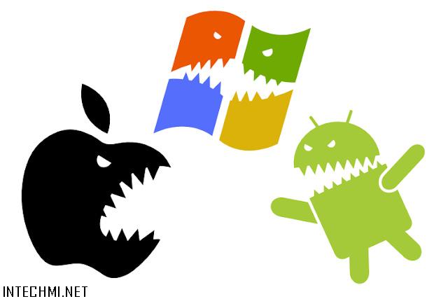 apple vs android vs windows