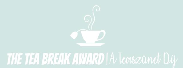The Tea Break Award (A Teaszunet Dij)   2017