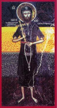 Αποτέλεσμα εικόνας για Ο εκ Μυριχόβου οσιομάρτυς Δαμιανός