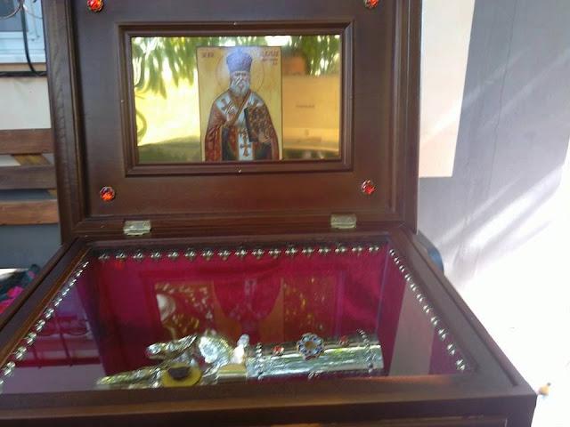 РПЦЗ: Святые мощи свт. Гликерия Румынского Исповедника были переданы для будущего женского скита в Молдову. ФОТО