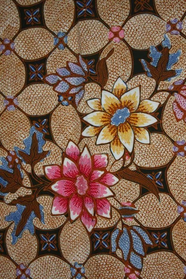 Owl Town Collections: Batik: Kawung Pattern