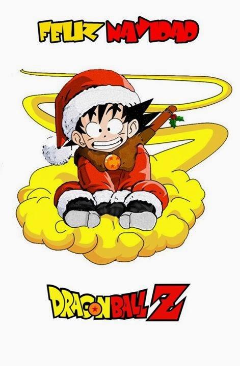 Feliz Navidad Goku Dragon Ball Z
