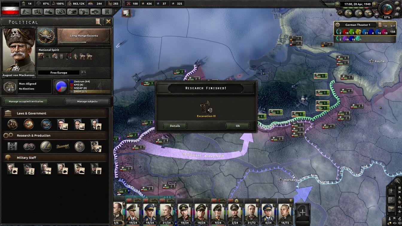 Germany - HOI4 - Further Modernization