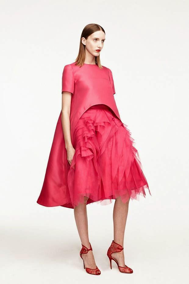 Fashion Runway : Monique Lhuillier Resort 2015 look book