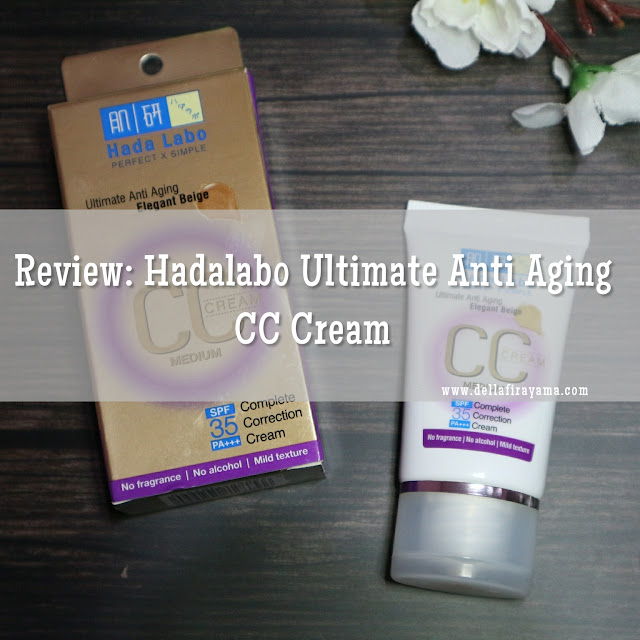 Hadalabo Ultimate Anti Aging CC Cream