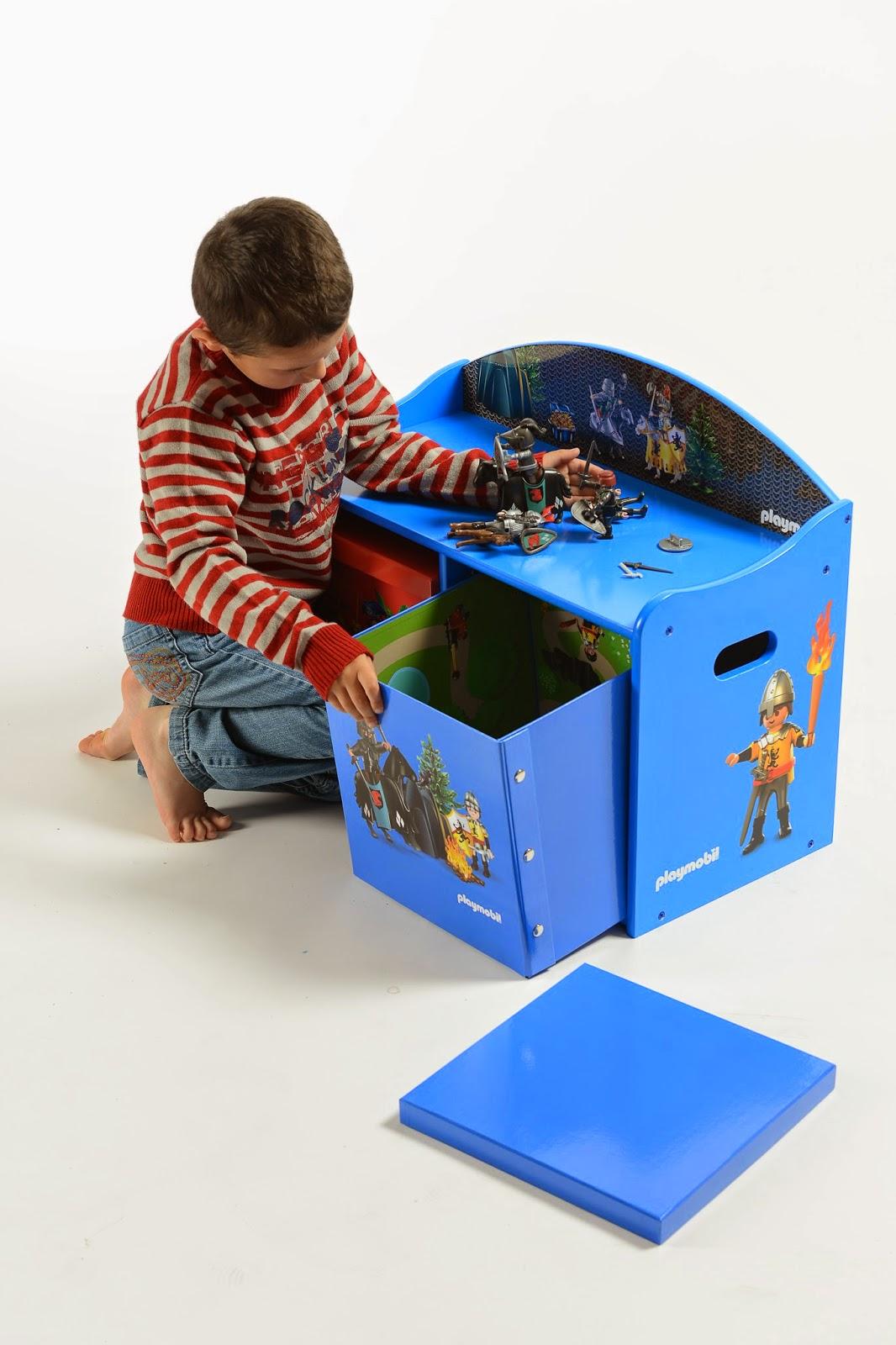 les petites m ces rangements playmobil pratiques et ludiques. Black Bedroom Furniture Sets. Home Design Ideas