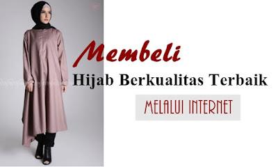 membeli hijab berkualitas terbaik melalui internet
