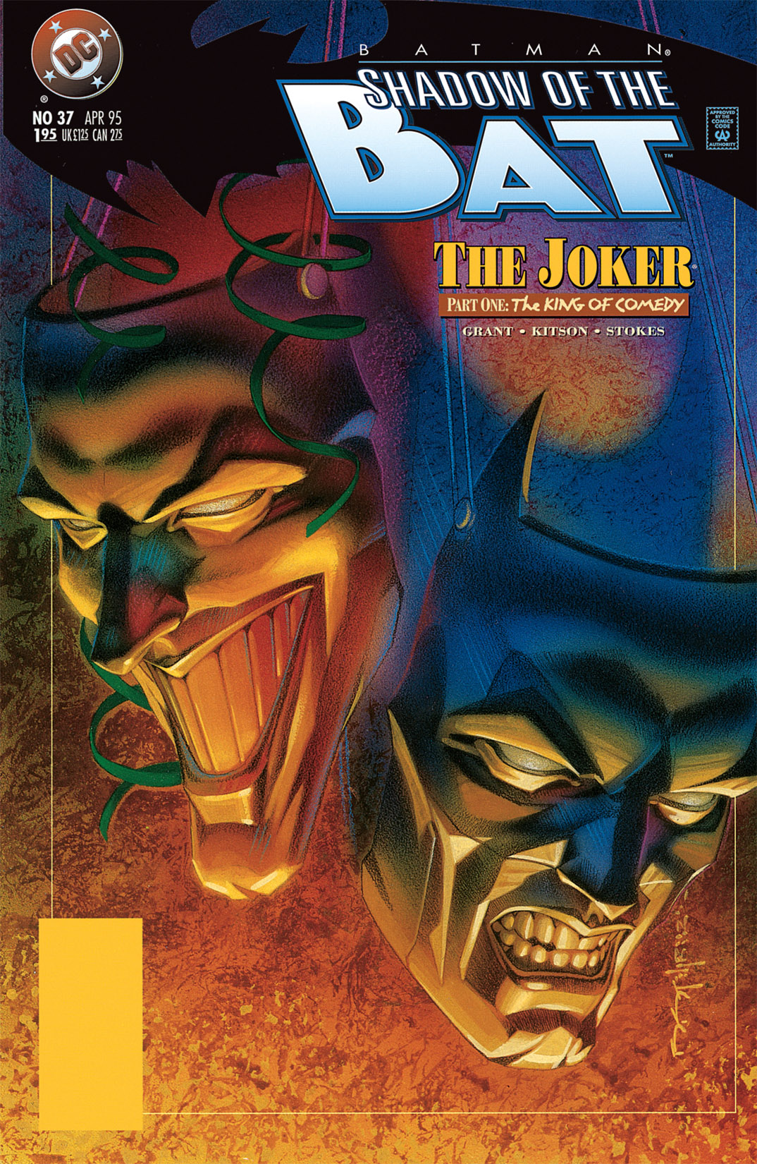 Batman: Shadow of the Bat 37 Page 1