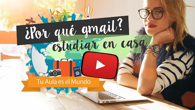 estudiar online, estudiar a distancia, como abrir una cuenta gmail