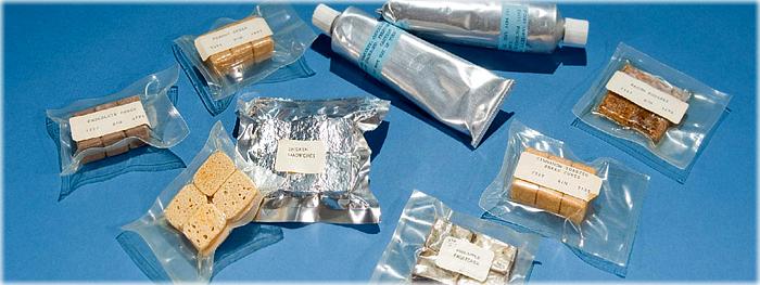 alimentos consumidos no espaço
