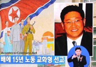 Kenneth Bae sentenciado a prisión en Corea del Norte
