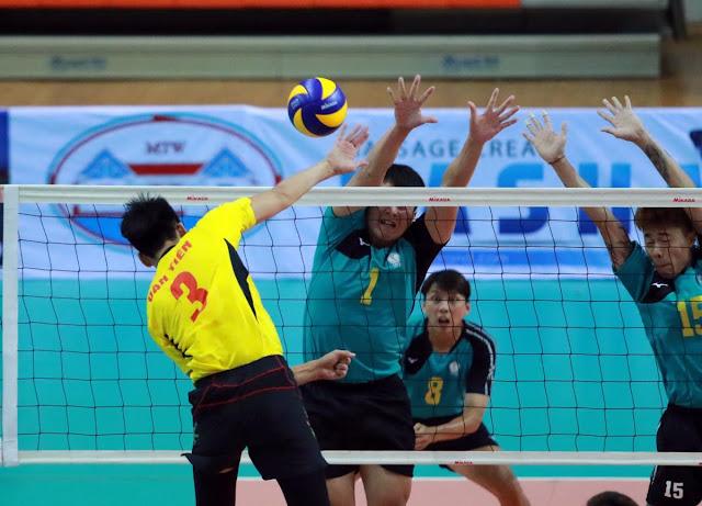 Thắng lại CLB Long Power (Đài Loan -TQ), Sanest Khánh Hòa lọt vào bán kết