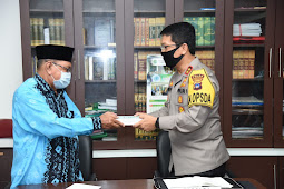 Nico Afinta Jalin Silaturahmi Ke Kantor PW Muhammadiyah Kalimantan Selatan