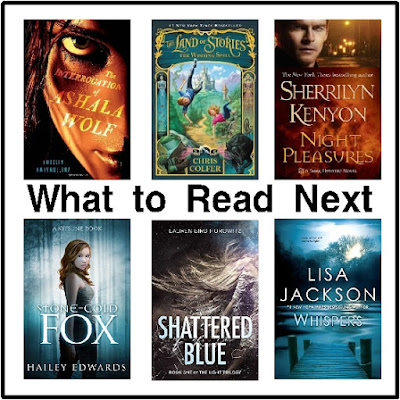 If you are looking for a bit of fantasy with dystopian, fairy tale, mystery, or vampire flaire, then check out these book to read next.  These all look really good, although I haven't read them all yet.  Let me know what you think if you read them first!
