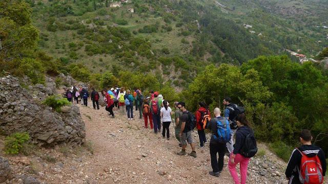 Εξόρμηση στην κορυφή του Κτενιά από τον Ελληνικό Ορειβατικό Σύλλογο Τρίπολης