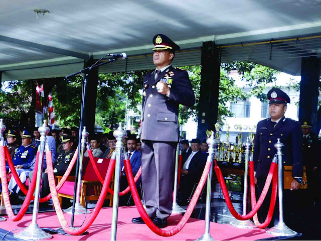 Upacara Peringatan Hari Pahlawan Tingkat Kabupaten Subang Tahun 2016