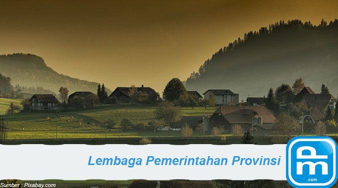 lembaga pemerintahan di wilayah provinsi